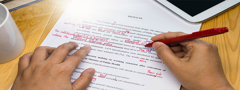 proofreading services Dubai